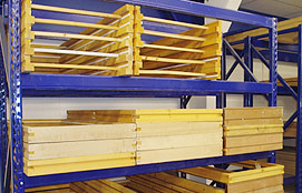 Pallet racking Uk - Horizontal Door Racking
